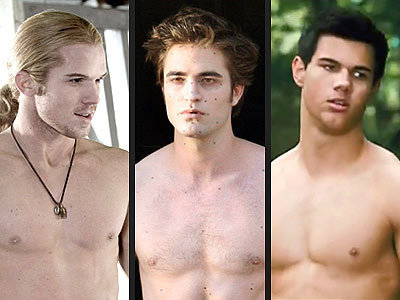 Twilight Series wallpaper probably with a hunk titled Edward, James and jacob