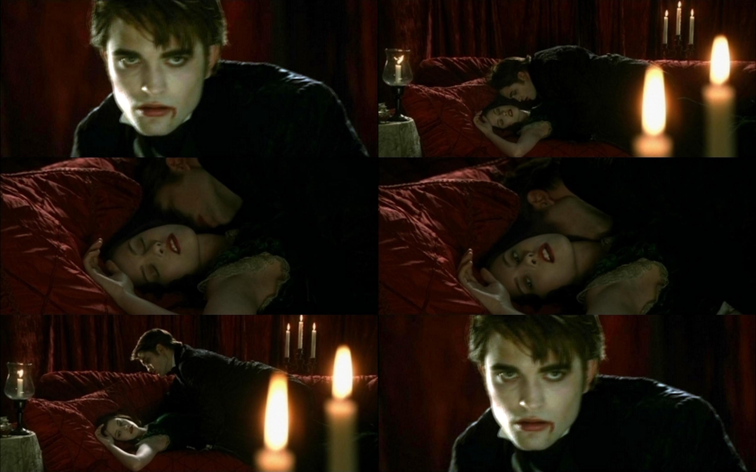 Edward/ Vampire - Vampires vs. Werewolf Wallpaper (7147157 ...