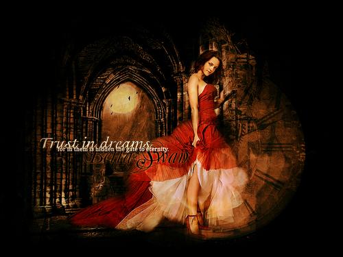 Edward and Bella - Twilight Fanfiction fondo de pantalla (7100941