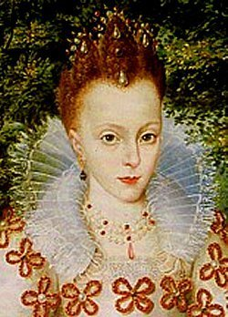 "Elizabeth Stuart, क्वीन of Bohemia ""Winter Queen"""