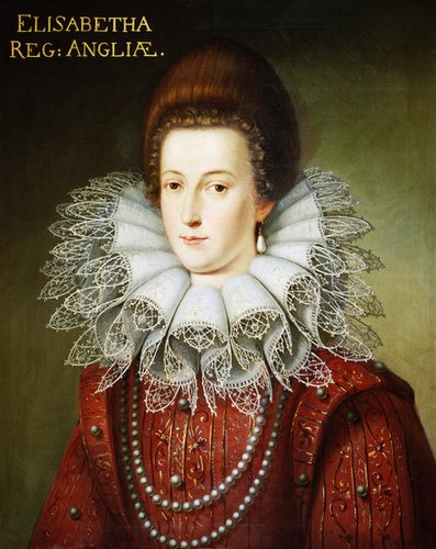 "Elizabeth Stuart, Queen of Bohemia ""Winter Queen"""