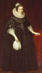 "Elizabeth Stuart, クイーン of Bohemia ""Winter Queen"""