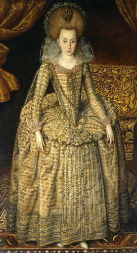 "Elizabeth Stuart, 皇后乐队 of Bohemia ""Winter Queen"""