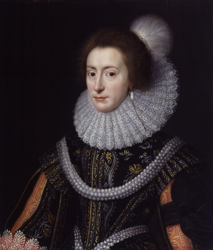 "Elizabeth Stuart, কুইন of Bohemia ""Winter Queen"""