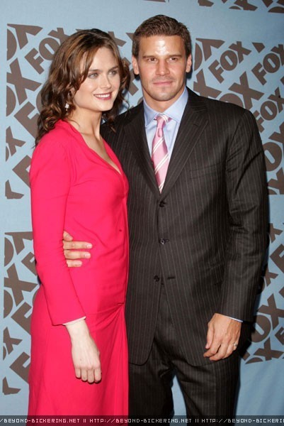 Emily Deschanel and David Boreanaz - Bones Photo (7190304 ...