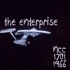 star trek ships photo possibly containing a sign called Enterprise NCC-1701