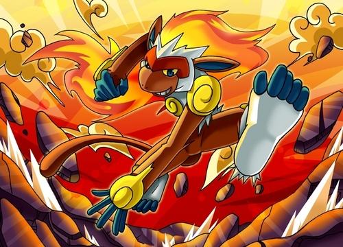 fogo Pokemon