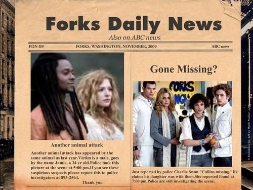 Forks daliy news paper