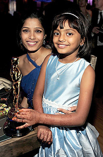 Freida pinto and Rubina Ali