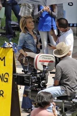 Hayden on Set Season 4