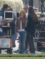 Hayden on Set Season 4