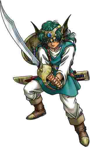 Hero in Dragon Quest IV