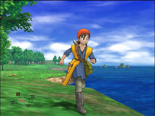 Hero in Dragon Quest VIII