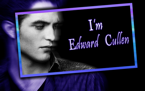 Edward Cullen wallpaper titled I'm Edward Cullen, Nice to meet u too. =)
