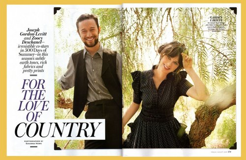 InStyle Magazine 写真 Shoot (Aug 2009)
