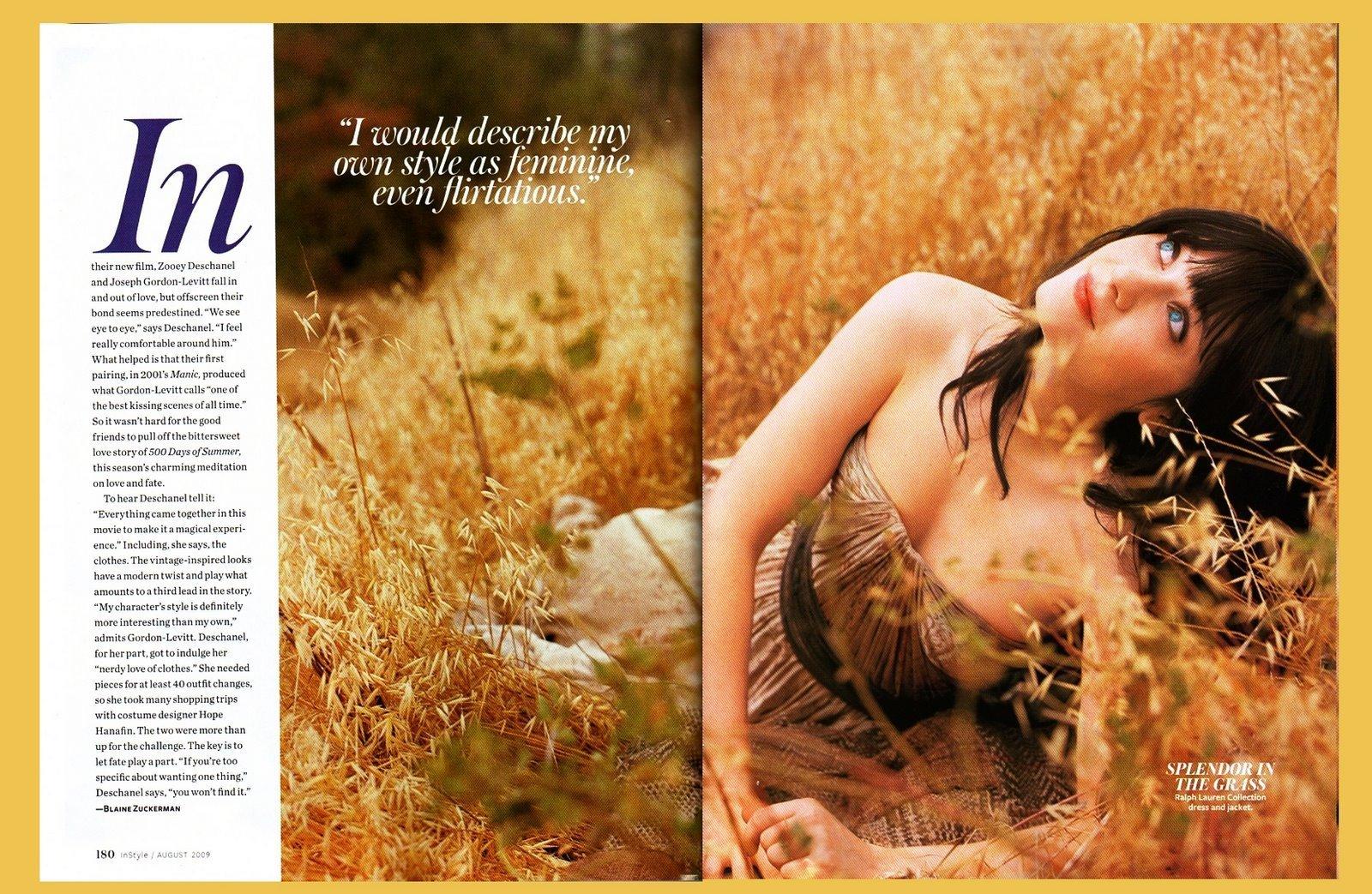 InStyle Magazine picha Shoot (Aug 2009)