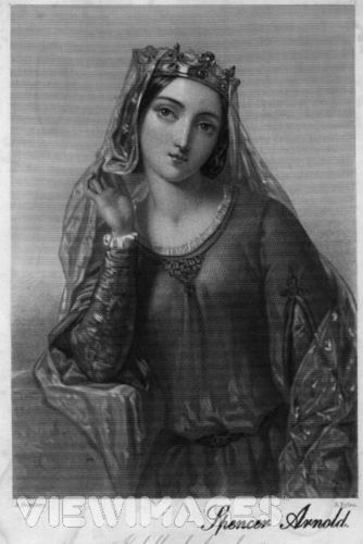 Isabella of Angoulême, reyna of King John of England