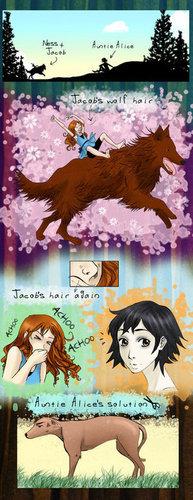Jacob & Nessie & Alice