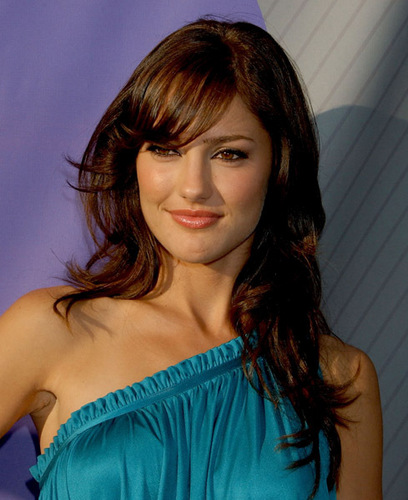 Minka Kelly wallpaper containing a portrait entitled July 17,2007 - NBC TCA All-Star Party