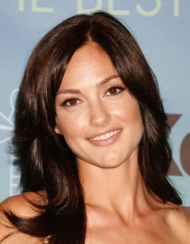 Minka Kelly wallpaper containing a portrait entitled June 14,2007 - The 2007 Crystal and Lucy Awards