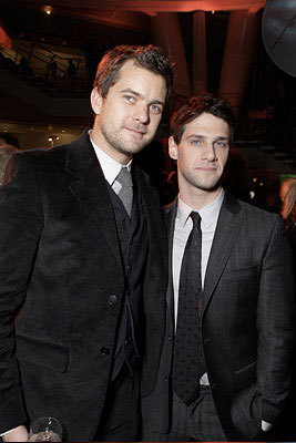 Justin Bartha with Joshua Jackson