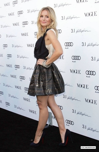 Kristen Bell @ Vogue's anniversary party