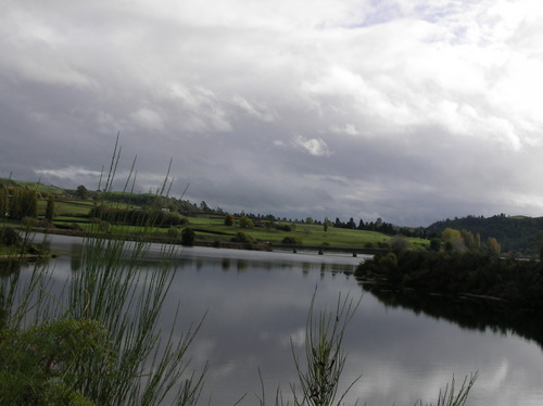 Lake karapiro- New Zealand