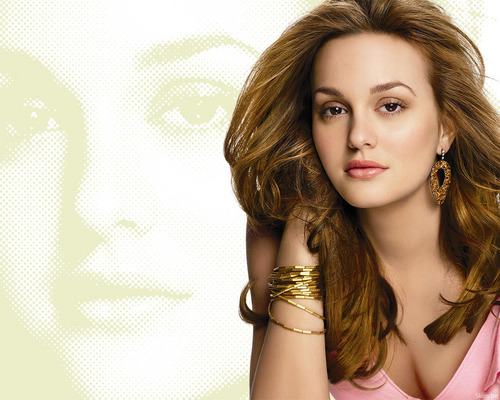 Leighton Meester wallpaper with a portrait titled Leighton Meester