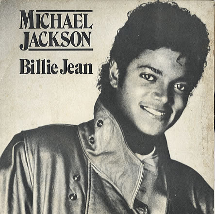 MJ Billie Jean record cover