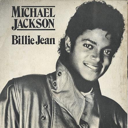 MJ Billie Jean record cover