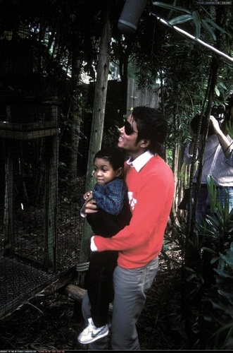 MJ (Disney World Visit) 1984
