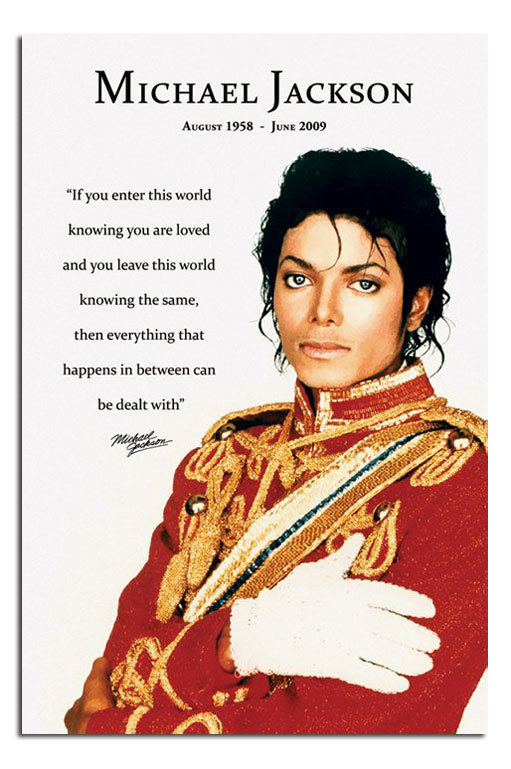 Michael jackson quote & gorgeous picture <3 - michael-jackson photo