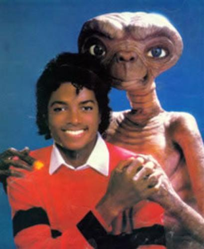 Michael with ET