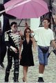 Michael with Lisa Marie Presley  - michael-jackson photo