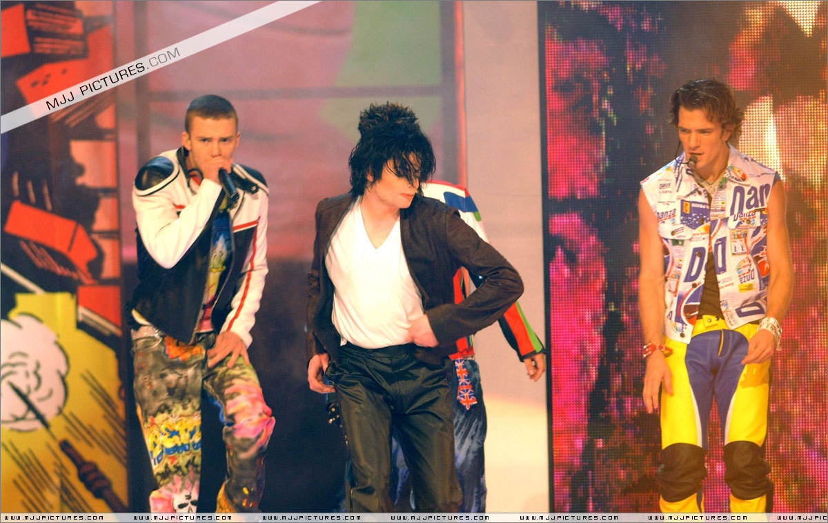 Michael with N-sync