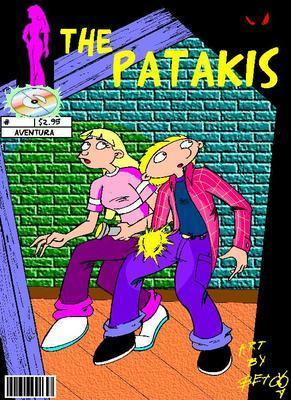 Mock Comic Book: The Patakis 2