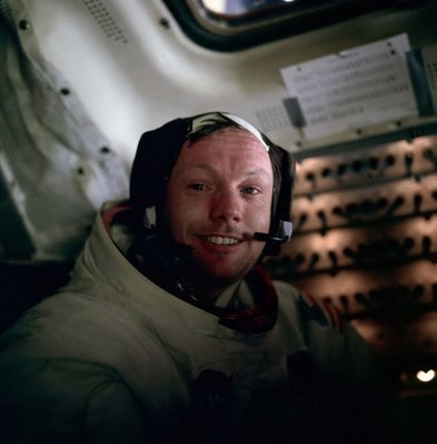 Moon Landing 40th Anniversary (20/07/09): Astronaut Neil Armstrong