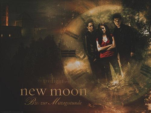 New Moon- Love Triangle