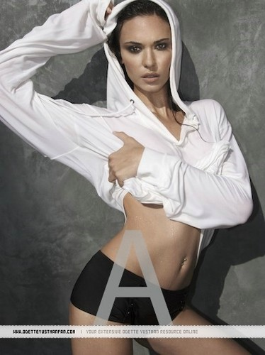 Odette Yustman - Rolling Stone Photoshoot