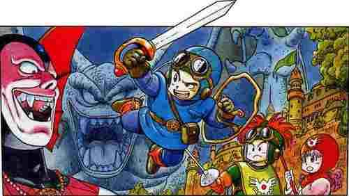 Old-School Dragon Quest