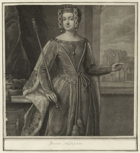 Philippa of Hainault, reyna of Edward III of England