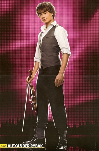 Alexander Rybak wallpaper entitled Poster