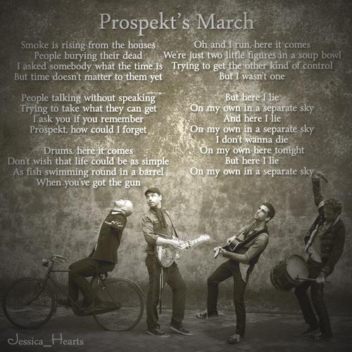 Coldplay wallpaper entitled Prospekt's March