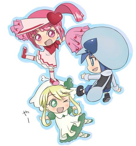 Ran, Miki & Suu