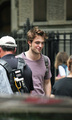 Rob on Rememeber Me set * - twilight-series photo