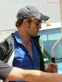 Rob on set 07/14/2009 - twilight-series photo
