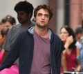 Robert on set of Remember Me - July 17 - twilight-series photo