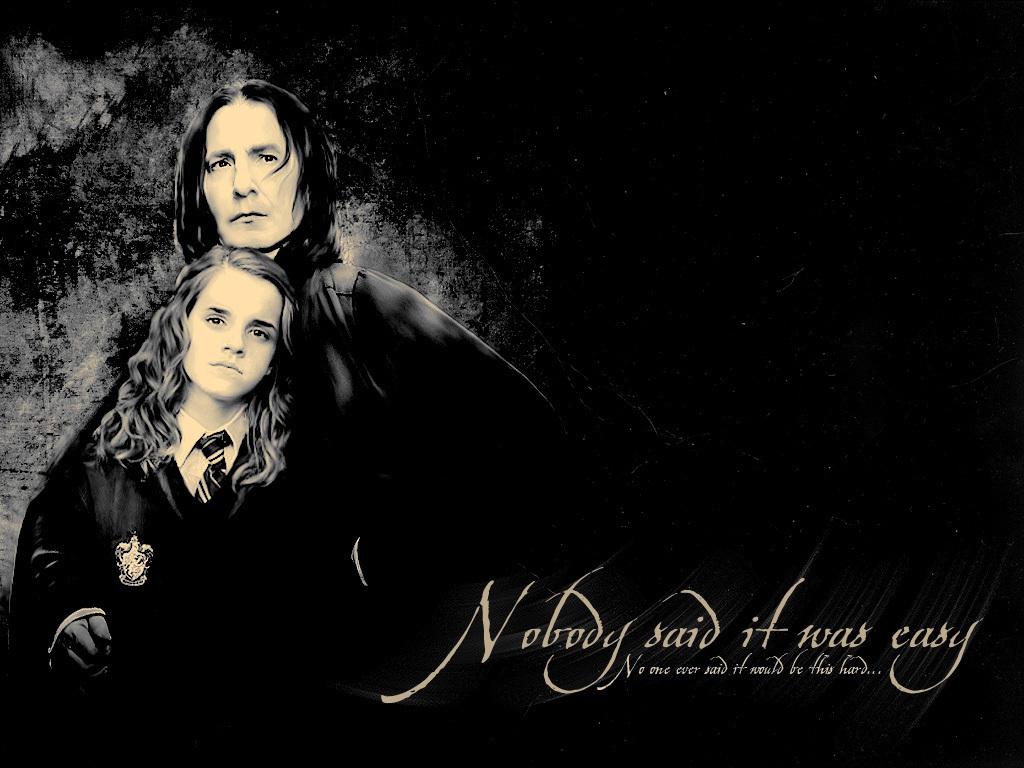 Severus Snape & Hermione Granger - Severus Snape Wallpaper ...