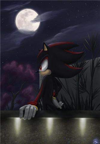 Shadow Hintergrund titled Shadow paceful night