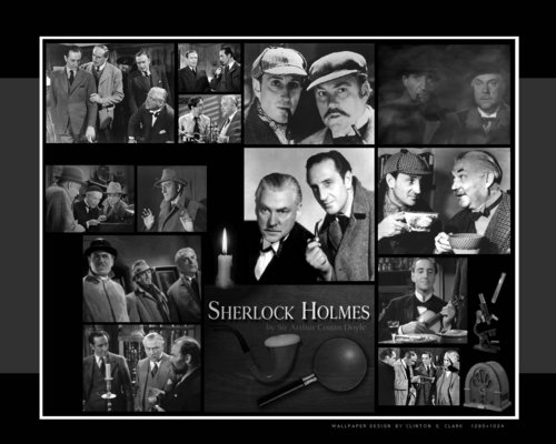 Sherlock Holmes wallpaper possibly containing anime called Sherlock Holmes